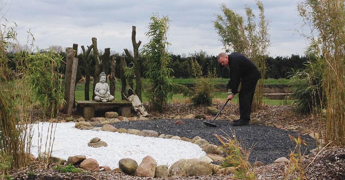 Zen tuin elegant zen tuin aanleggen c est le printemps for Zen tuin aanleggen