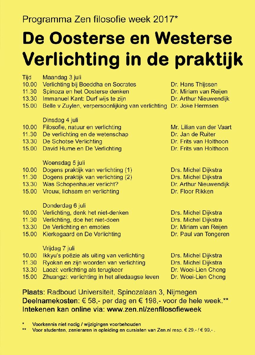 Zen.nl Nederland | Na Boeddha en Kant, Verlichting 3.0