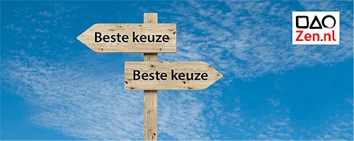 zen en keuzes maken