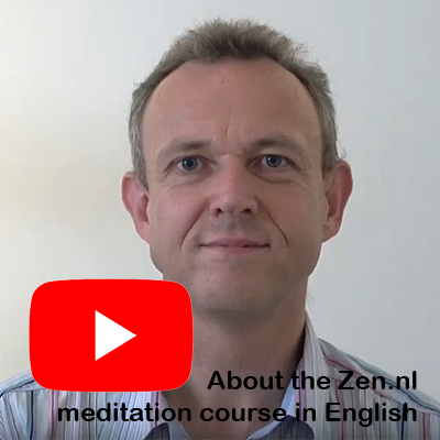 YouTube about the English meditation course