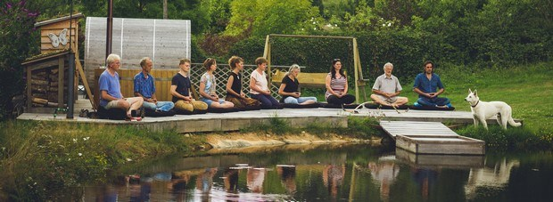 zin en zen en boogschieten vakantieweek in Frankrijk