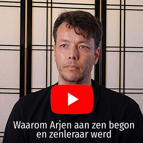 Arjen Hilhorst op YouTube over zen